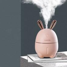ELOOLE USB Kaninchen Luftbefeuchter Ultraschall Aromatherapie Diffusor Air Mist Maker Aroma Befeuchtung Für Home Auto Büro