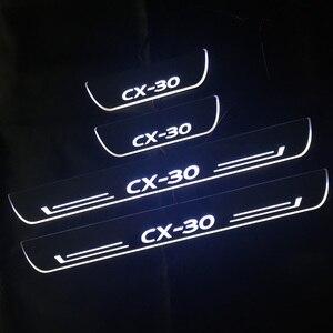 Светодиодный светильник, для Mazda CX30, акриловый