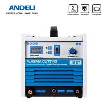 ANDELI Intelligent Easy to Carry Built in Air Pump Plasma Cutting Machine CUT 40Y Plasma Cutter with Compressor