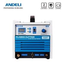 Andeliインテリジェント簡単にキャリー内蔵空気ポンププラズマ切断機CUT 40Yプラズマカッターとコンプレッサー
