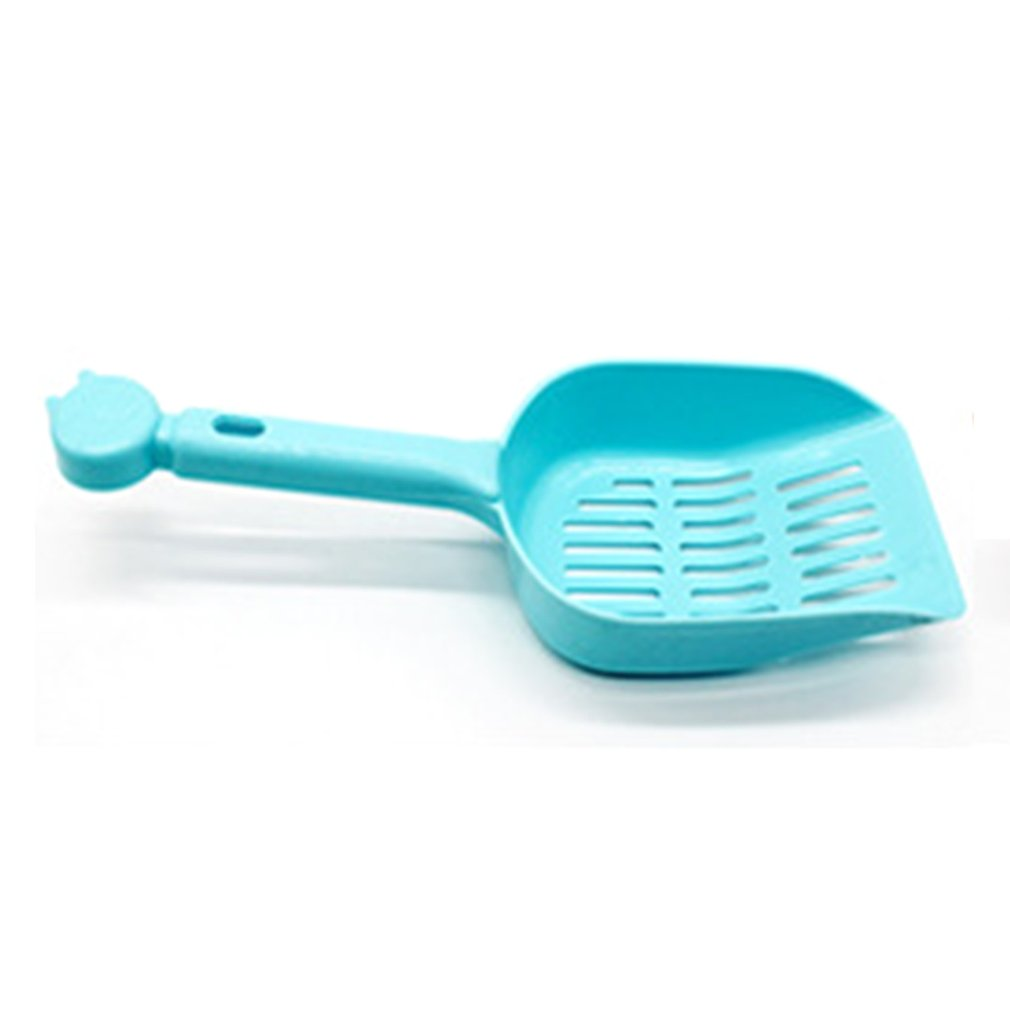 Useful Cat Litter Shovel Pet Cleaning Tool Plastic Scoop Cat Sand Cleaning Products Toilet For Dog Food Spoon