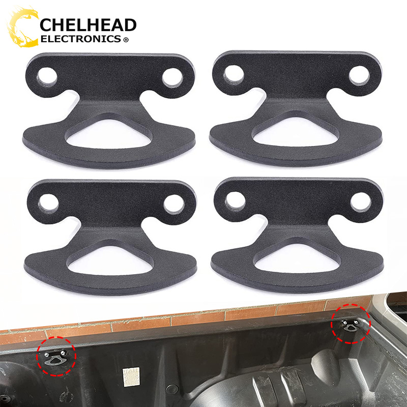 Truck Bed Tie Down Hooks for Ford F150 Heritage F250 2004-2010 Explorer Sport Trac 2001-2010 Lincoln Mark LT 2005-2008