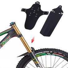 1 Set 2 Pieces Front Back Rear Bicycle Fender Cycling Bike Accessories Road Mountain MTB rear Fenders