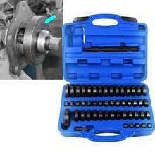 Samger – kit d'outils de réparation de moto, 51 pièces, jeu de disques de presse à pression personnalisés 18-74mm pour automobile