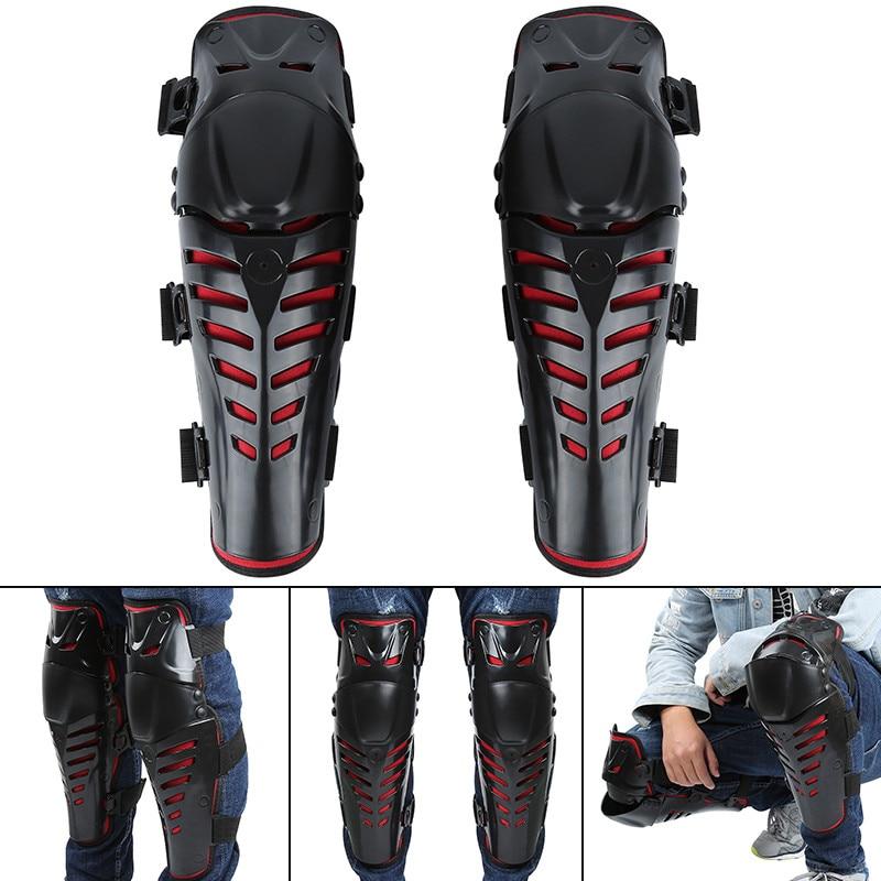 A Pair Motorcycle Motorbike Motocross Racing Elbow Knee Pads Knee Protector Adjustable Motorcycle Armor Aults Knee Pads