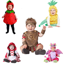Rompers Halloween-Outfits Kids Costume Jumpsuits Toddler Girls Infant Baby Boys Animal