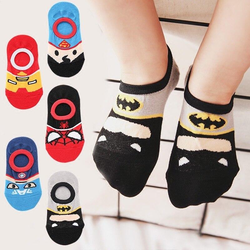 new Spiderman Socks foot Sox set 2 pairs boys girls kids cartoon