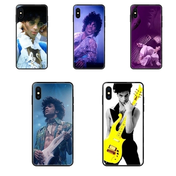 Boutique Black Soft Painted Cover Phone Case Prince Rogers Nelson For Xiaomi Redmi 3S 4X 4A 5 5A 6 6A 7 7A 8 8A 8T 9 9A K20 K30 image