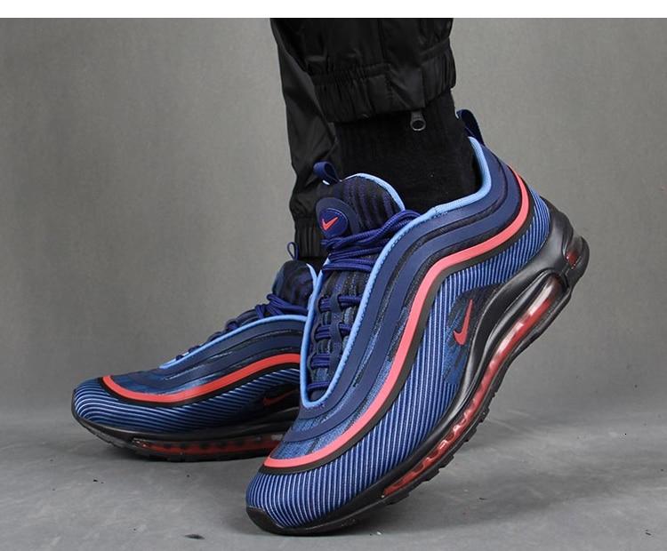 NIKE AIR MAX 97 Original New Arrival Men Running Shoes Breathable Air Cushion Sports Sneakers #BQ9130 400