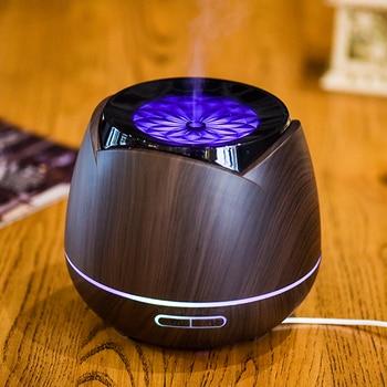 Mute Electric Incense Burner Black Ultrasonic Air Humidifier Bedroom Incense Holder Room Perfume Home Aroma Oil Burner MM60XXL