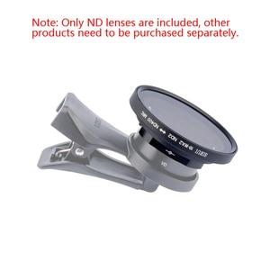Image 1 - Sirui الهاتف المحمول قابل للتعديل ND مرآة ND2 400 يعتم تصفية ل 18 مللي متر واسعة زاوية عدسة و sirui anamory ic عدسة
