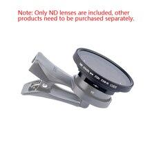 Sirui téléphone portable réglable ND miroir ND2 400 filtre de gradation pour lentille grand angle 18mm et lentille anamorphique sirui
