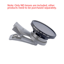 Sirui telefon komórkowy regulowany ND lustro ND2 400 filtr przyciemniający do obiektywu szerokokątnego 18mm i soczewki anamorficznej sirui