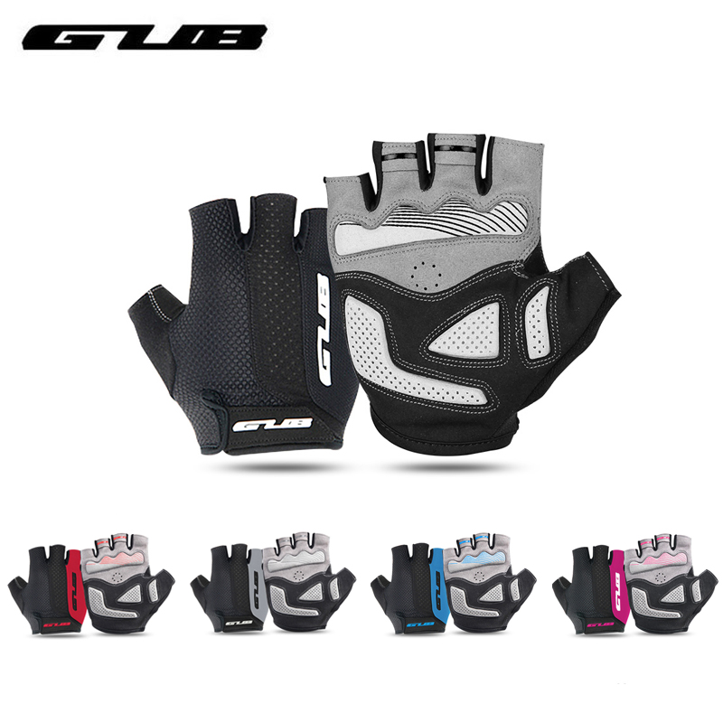 GUB 5 Colors Half Finger Cycling <font><b>Gloves</b></font> Breathable MTB <font><b>Mountain</b></font> Road <font><b>Bike</b></font> <font><b>Gloves</b></font> <font><b>GEL</b></font> Shockproof Bicycle GlovesRiding Equipment image