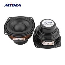 AIYIMA 2 шт. 2-дюймовый Портативный Аудио полный диапазон динамик 4 Ом 10 Вт Неодимовый звуковой динамик драйвер DIY Bluetooth Настольный громкий динамик