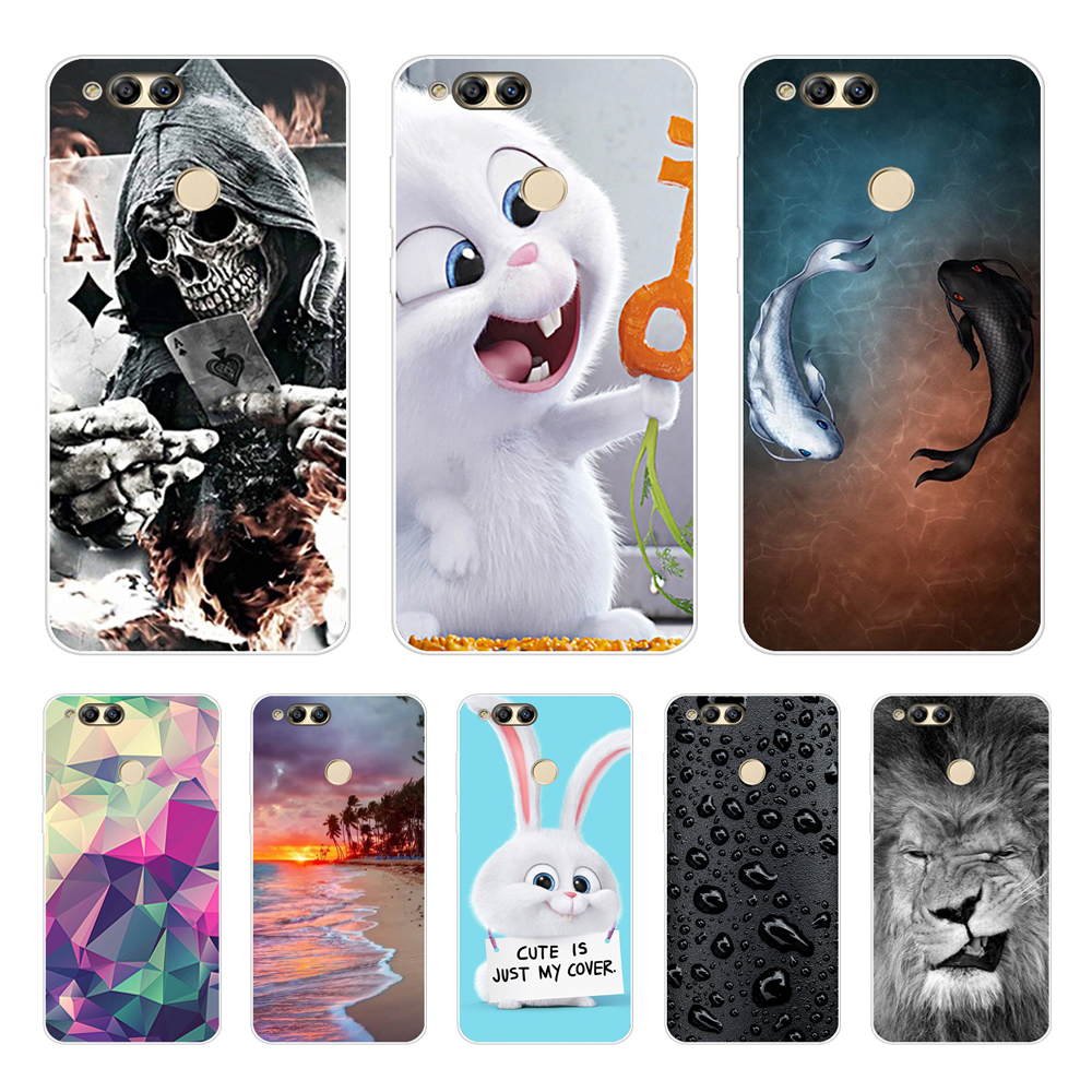 For <font><b>Huawei</b></font> <font><b>Honor</b></font> <font><b>7X</b></font> Honor7X 5.93 inch <font><b>Case</b></font> Soft <font><b>Silicone</b></font> Cover <font><b>Case</b></font> For <font><b>Huawei</b></font> <font><b>Honor</b></font> 7 X <font><b>Honor</b></font> <font><b>7X</b></font> Protective Phone <font><b>Cases</b></font> Cover image