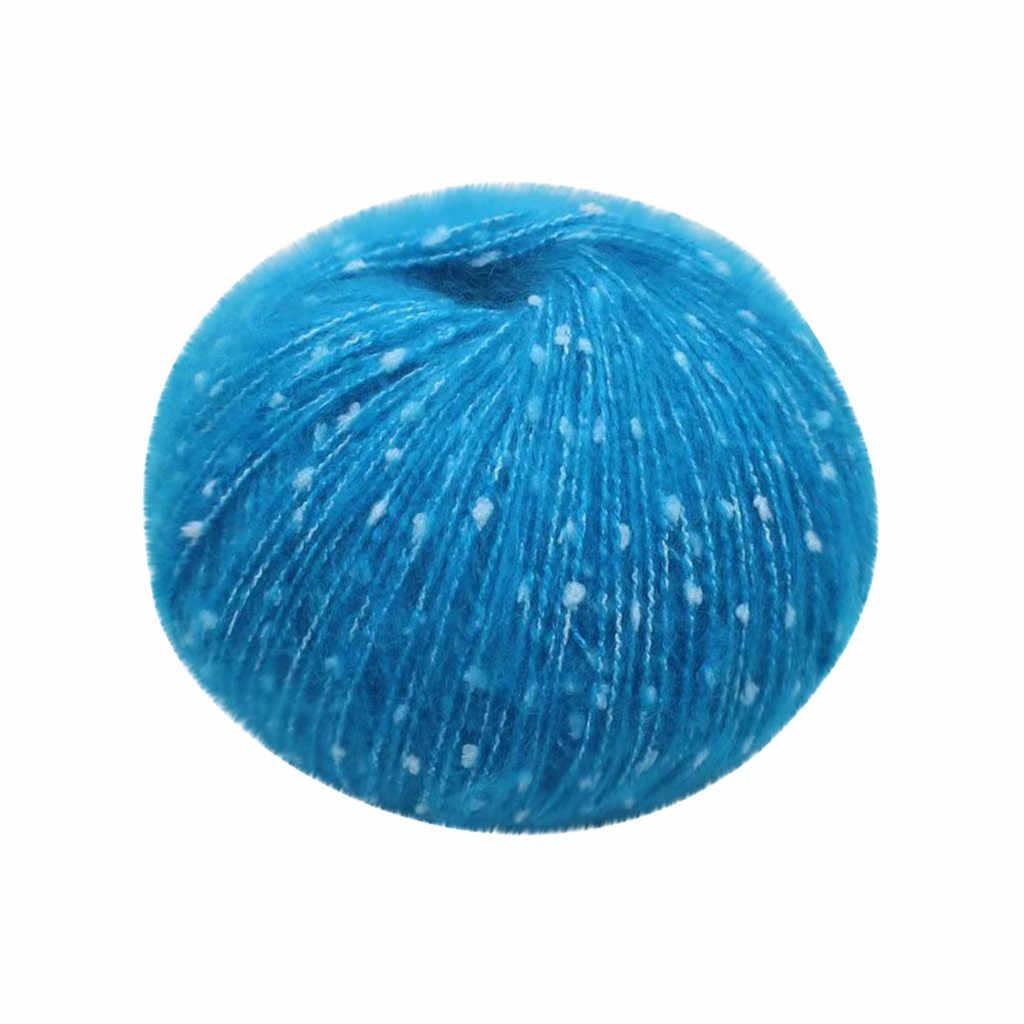 Laine fil mignon Mao Meng enfants tricot bébé laine barre couture poupée bricolage fil dentelle bébé coton fil fil 13 couleur 64P