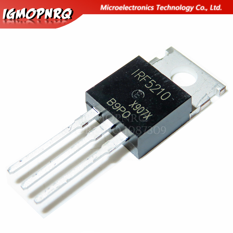 10pcs IRF5210PBF IRF5210 TO-220 100V 40A FET P channel 100% new original quality assurance