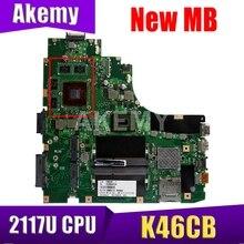 Akemy K46CB MAIN_BD._2117U GT740M (V2G) MainBoard For ASUS K46CB K46CM K46C S46C A46C Laptop Motherboard 90NB0110-R00050