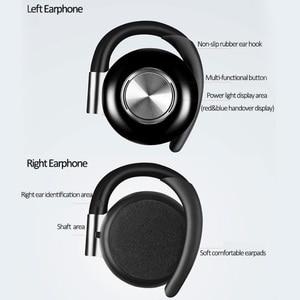Image 3 - Air V5 TWS Draadloze Hoofdtelefoon Stereo Bluetooth 5.0 Oortelefoon Oorhaak Noise Cancelling Bluetooth Headset Met Microfoon