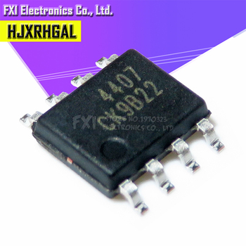 10 unids/lote AO4407A 4407A MOSFET (Transistor de efecto de campo Semiconductor de óxido metálico)