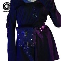 2019 New Fashion black waist bag women Female Belt Fashion Waterproof Genuine fanny pack for women