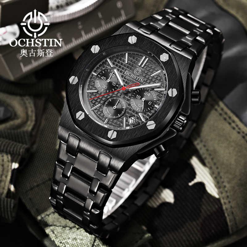 Luxury Military Watch Switzerland Brand Mens Watches Army Sports Tough Guy Wind 44mm Chronograph Luminous Relogio Masculino New