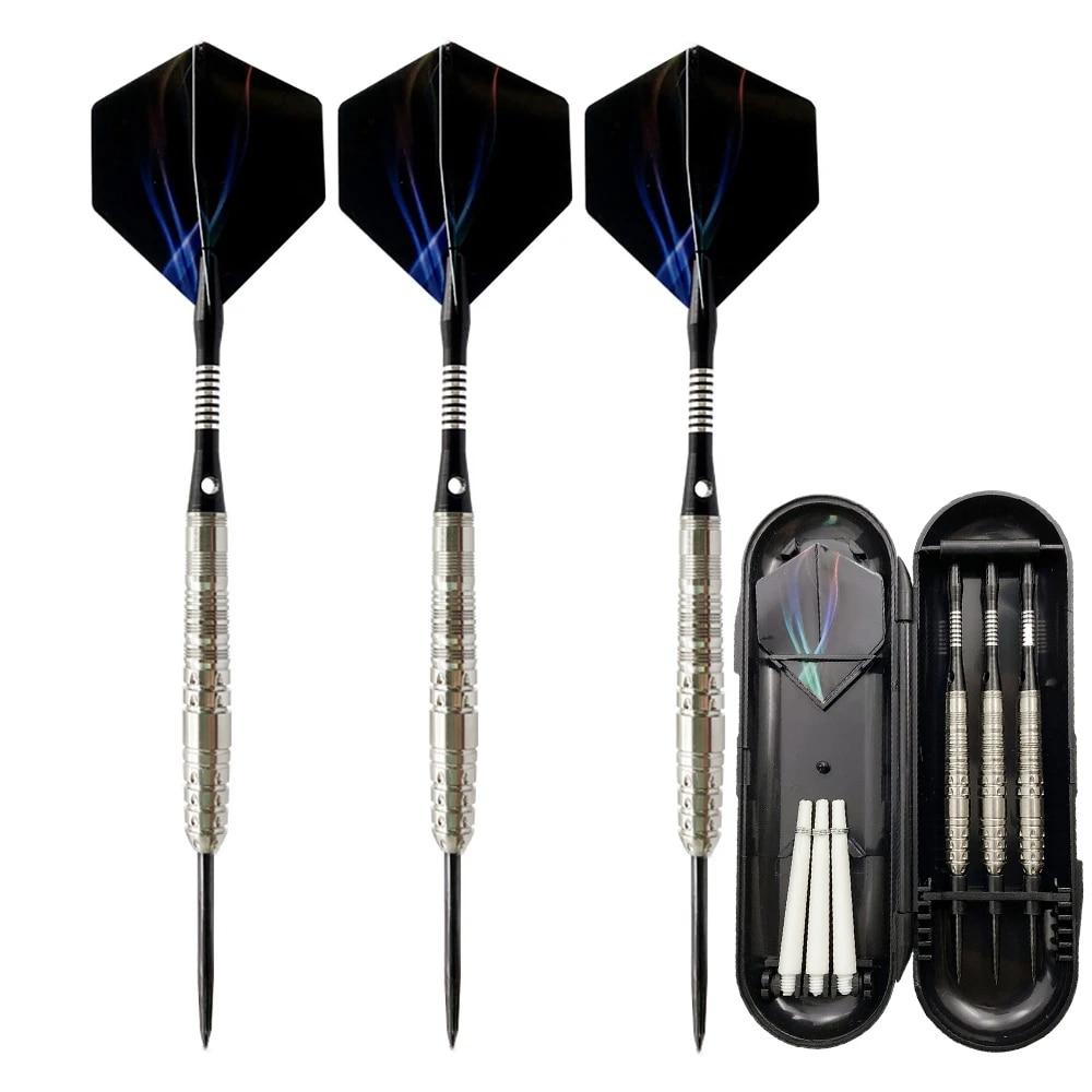 Steel Tip+Shaft+Flight+Barrel For Indoor Games 3pcs//set of Tungsten Darts NEW