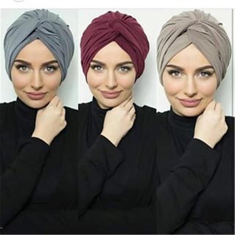 Мусульманские женские замшевые внутренние Искусственные женские шарфы для головы, женская шапка в Индийском и африканском стиле, Женский м...