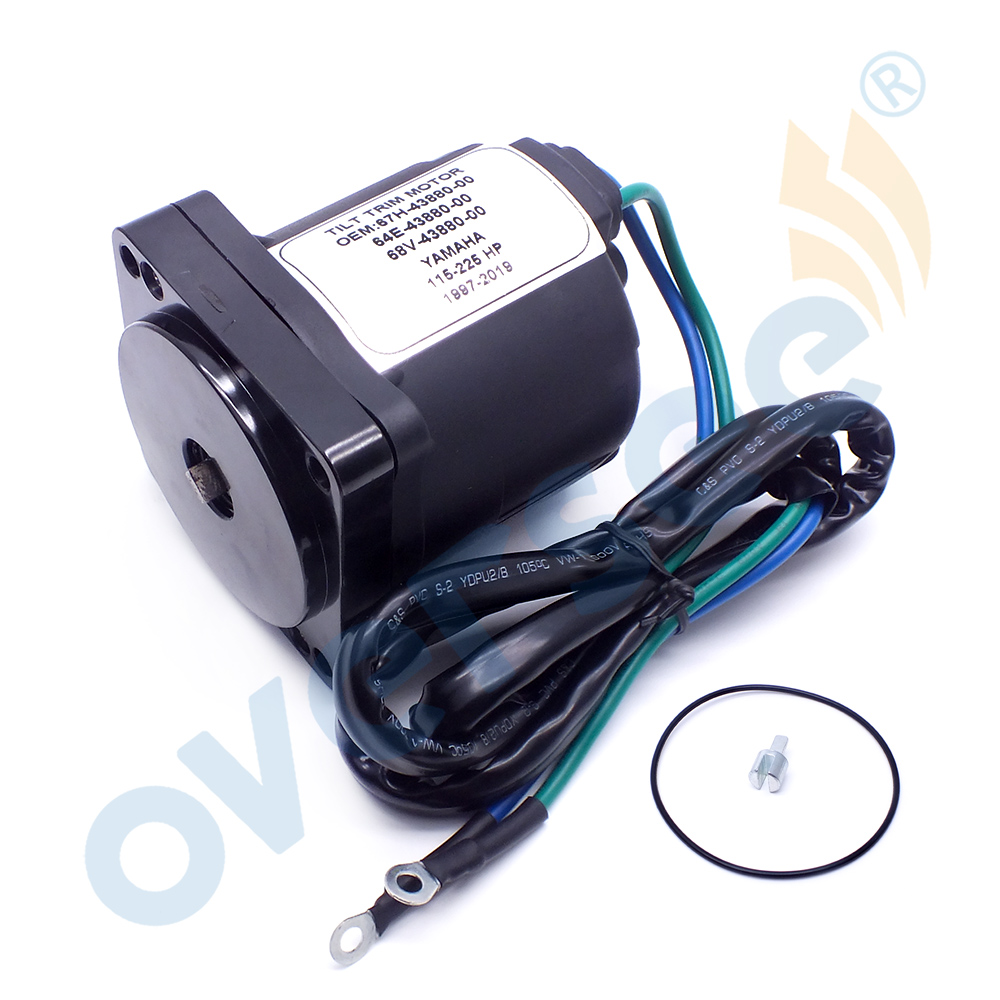 67H-43880-00 Tilt Trim Motor For Yamaha OMC Outboard Motor Parts  67H-43880 64E-43880 64E-43880-00 Lester 10855 68V-43880