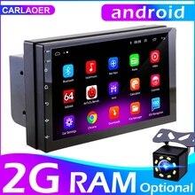 """Автомобильный мультимедийный видеоплеер, универсальная стерео система на Android 8,1, с 7 """"экраном, GPS, для Volkswagen, Nissan, Hyundai, Kia, Toyota, LADA, типоразмер 2 Din"""