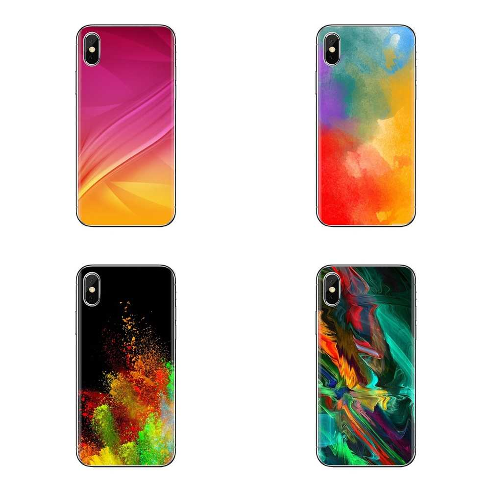 Colours Wallpaper For Samsung Galaxy S3 S4 S5 Mini S6 S7 Edge S8 S9 S10 Plus Note 3 4 5 8 9 Soft Transparent Cases Covers Fitted Cases Aliexpress