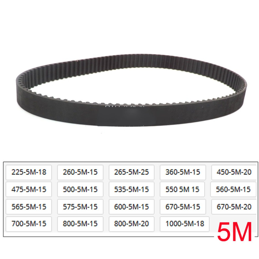 Drive Timing Belt HTD 535 5M 15 225 260 265 360 450 475 500 535 550 560 565 575 600 670 700 800 800 1000 5M Belt 15mm 20mm