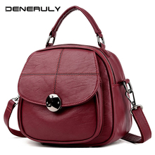 Famous Brand Leather Bags Fashion Women Shoulder Ba