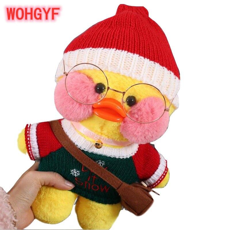 30 см Корейская нетред Гиалуроновая кислота маленькая Желтая утка кукла плюшевые игрушки куклы-утки подарок на день рождения для девочек