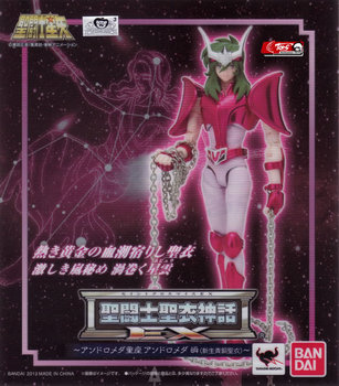 """Saint Seiya"" Original BANDAI Tamashii Nations Saint Cloth Myth EX Action Figure -Andromeda Shun(New Bronze Cloth) 2"