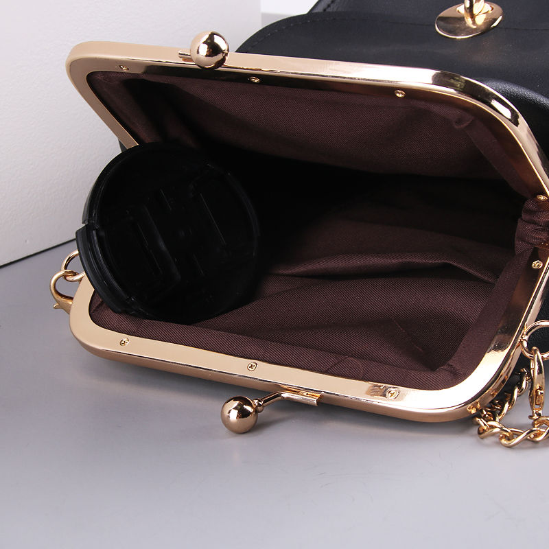 women`s handbags pu leather kiss lock shell bags (12)