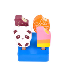 4Pcs lot Kids Kitchen Toys Ice Cream Kitchen Food Toys Children Wooden Toys Play House Gift Toys for Preschool Girl Boy cheap CN(Origin) ice-cream stick inedible Unisex 2-4 Years 1 48 1111 2cm x 8cm x 7cm 0 450kg Educational Toys 3 years old 3 years old
