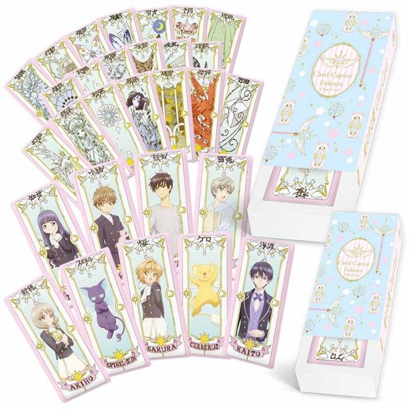 Closeout DealsFancyqbue Divination-Cards Cardcaptor Sakura Sakura-Card Anime Girl Tarot Sports 1set