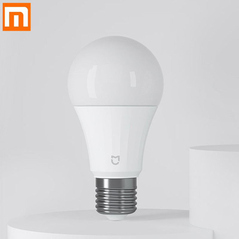 Xiaomi Mijia LED Smart Bulb Bluetooth Mesh Version 5W 2700-6500K Controlled By Voice Adjusted Color Temperature Smart Lamp