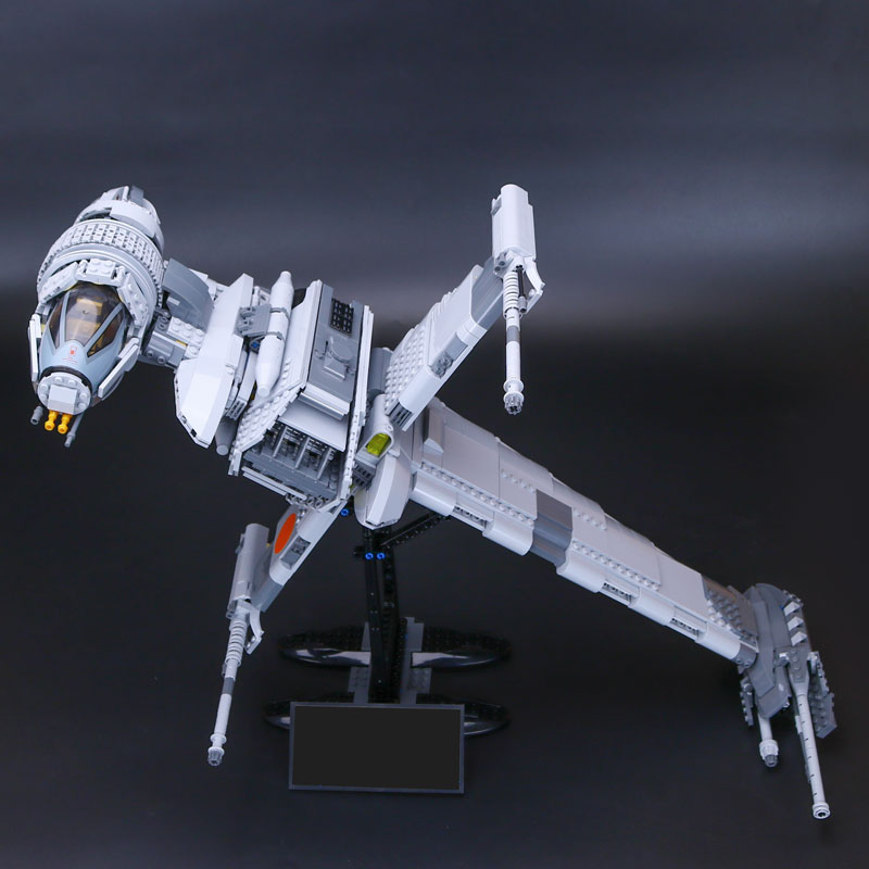 05045 Star Wars Series The B-wing Star fighter Mobile Building Block 1487Pcs Bricks Compatible With Lego Star Wars 10277 2