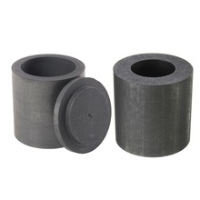 OKIl 30X30mm Graphite Crucible Ingot Bar Combo Mold for Silver Gold Melting Casting