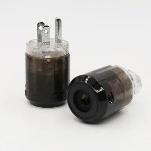 Image 1 - Cặp Đôi P004 + C004 Mạ Rhodium Mỹ Cắm Điện Hifi Mỹ Dây Nguồn Cắm + IEC Nữ Cổng Kết Nối