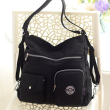 New arrive wholesale fashion casual waterproof nylon shoulder messenger bag #9823(China)