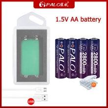 Литиевая батарея palo 15 в aa литий ионные аккумуляторные батареи