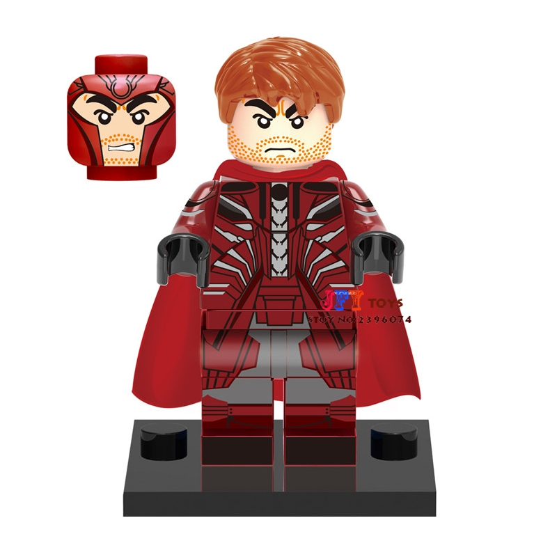 Single Sale Superhero Marvel X-Men Movie Magneto Building Blocks Model Bricks Toys For Children Action Figures