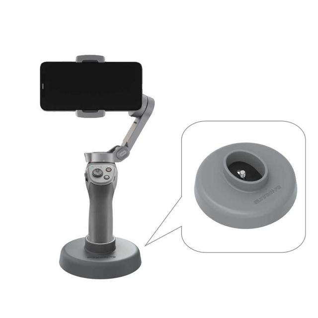 For DJI OSMO Mobile   3 Holder Stand Base Mount Stabilizers for DJI OSMO Mobile 3 Support Handheld Gimbal Accessory
