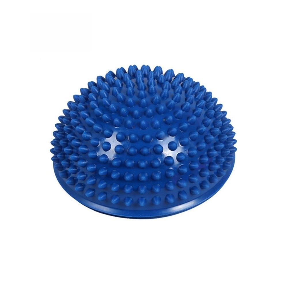 2019 PVC Half Yoga Ball Fitness Exerciser Water Cube Diamond Pineapple Ball Balance Training Point Massage Board For Children