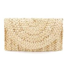 womens wallets and purses handmade clutch rattan bag for women designer famous brand wallet 2018