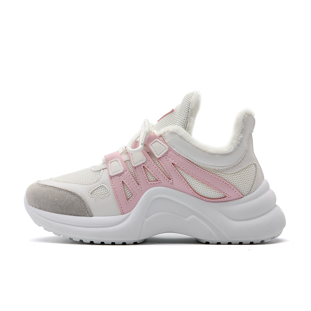 H67efb510161649169904393799a736e5g - Fujin Sneakers Women Breathable Mesh Casual Shoes Female Fashion Sneaker Lace Up High Leisure Women Vulcanize Shoe Platform